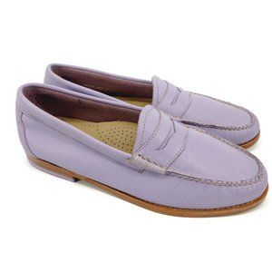 Weejuns G.H. Bass & Co Leather Slip On Penny Loafer Shoes (Size 8M)
